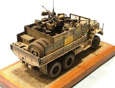 "Vietnam War M35A1/2 ""Sopwith-Camel"" Convoy Guntruck."