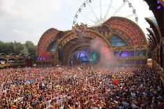 Tommowland 2014, uploaded by Carlita Christian. And is an image about an EDM music festival in Belgium called Tomorrowland