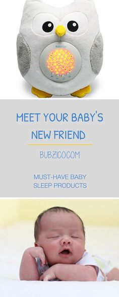 Your baby will enjoy a range of gently lullabies or natural white noise to soothe them to sleep. : #BubziCo Soothing Sleep Owl makes your job easier by turning off automatically after 30 mins. when your baby is asleep.You can also adjust the volume, & tu