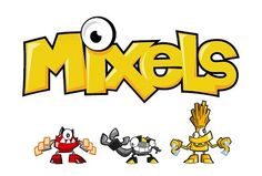 Here come the Mixels