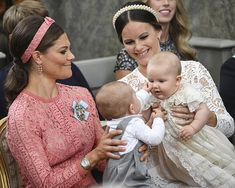 The baptised of Prince Alexander of Sweden.   9-9-2016
