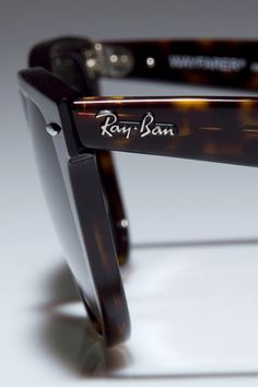 ":""Ray-Ban Original Wayfarer In Tortoise Shell"". My father wears these, but in black. I love them."