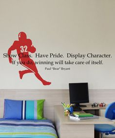 Great sports quote - might do this in Nick's new room...hmmm