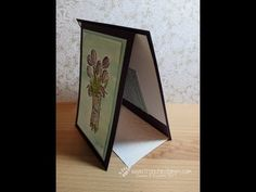 Stamp & Scrap with Frenchie: Fun Fold for Gift Card Video
