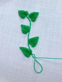😉, You may be a beginner sewist trying to find some simple stitching projects, or possibly you're on, Hand Embroidery Patterns Flowers, Hand Embroidery Videos, Embroidery Stitches Tutorial, Embroidery Flowers Pattern, Hand Embroidery Designs, Embroidery Motifs, Indian Embroidery, Brazilian Embroidery, Silk Ribbon Embroidery