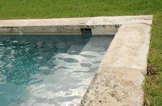 18th c. Stone Pool Coping. Chateau Domingue Houston TX.