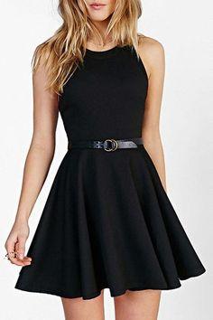 Charming Prom Dress,Black Prom Dress,Chiffon Prom Dress,Short Prom