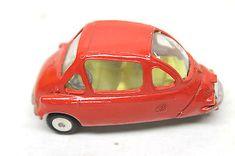 Vintage-Corgi-Toys-Heinkel-1-Economy-Car-Model-233-Die-Cast-Original-Box-NIB