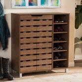 3-door Espresso Wood Cabinet by I Love Living | Espresso, Woods ...