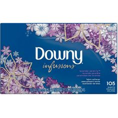 I'm learning all about Downy Ultra Infusions Lavender Serenity Sheet Fabric Softener 105 Count at @Influenster!
