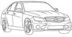 как рисовать автомобиль карандашом поэтапно
