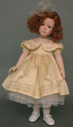collectible germany dolls, porcelain dolls franka treffeisen