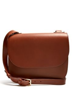 8d2b638625ae A.P.C. Christie leather cross-body bag Shopping