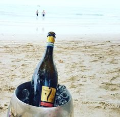 It's time to make a little #break. Let's #escape with #Fantinel #Prosecco! #beachlife #bubbles #chill #beautifuldestinations #seychelles #winelovers