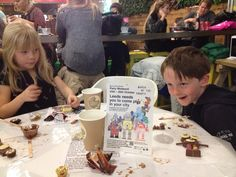 @PlayfulLeeds @Child_Leeds @TrinityLeeds #marchoftherobots. Great fun making chocolate robots today! Well done to all
