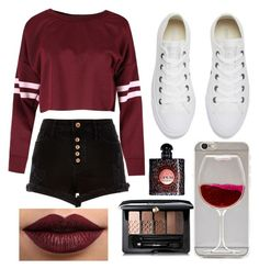 """""""Untitled #67"""" by giogio0353 on Polyvore featuring River Island, Converse, Guerlain, Yves Saint Laurent and LASplash"""