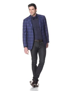 Nikky Men's Hand-Made Soft Shoulder Sport Jacket at MYHABIT