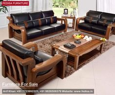 Best Wooden Living Room Sofa F001 2 … Living Room Furniture 400 x 300