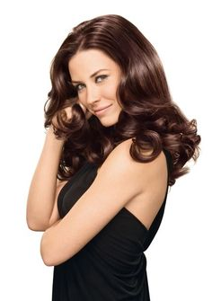 Picture of Evangeline Lilly Beautiful Women Pictures, Beautiful Celebrities, Beautiful Models, Nicole Evangeline Lilly, Casting Creme Gloss, Long Hair With Bangs, Haircut And Color, Beauty Shots, L'oréal Paris