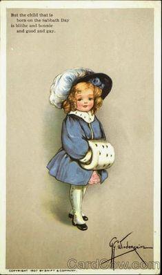 Parecchi nomi e parecchie firme per questa illustratrice, nata nel 1877: battezzata Viola Grace Gebbie, era figlia di un libraio,...