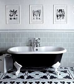 Classic bathroom decorating ideas | Roll top bath, Stage and Bath