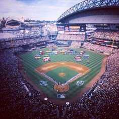 The #Mariners hosting the 72nd MLB All-Star Game at Safeco Field. #ThrowbackThursday #TBT