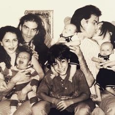 (From Susie Bick/Cave) Delphine, Warren, Luke, Arthur and Earl. Happy Father's Day Nick Cave.