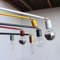 OneFortyThree potence lamps: Remodelista
