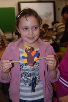 Thanksgiving Craft | November 23, 2012 | American Corner Pécs