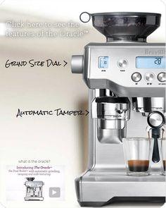 the Oracle BES980XL Espresso Machine | Breville