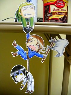 Hetalia paper cut outs are so cute! Papier Kind, Paper Child, Anime Crafts, Hetalia Funny, Live Picture, Paper People, Chibi Characters, 3d Drawings, Fandom