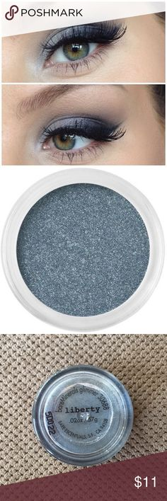 Mineral eyeshadow Bare minerals eyeshadow in liberty. This shade is exactly what you need for that perfect smoky eye. Very sultry and beautiful color. bareMinerals Makeup Eyeshadow