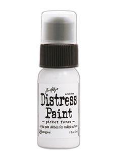 *Tim Holtz Distress Paint PICKET FENCE Ranger TDD36425