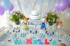 Aniversário Frozen para menina de 5 anos | Crianças | Itmãe