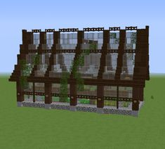 Big Minecraft Houses, Minecraft Medieval House, Minecraft Shops, Minecraft Farm, Minecraft Structures, Minecraft Houses Survival, Minecraft Cottage, Minecraft Houses Blueprints, Minecraft Plans