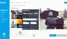Stencil es una herramienta web gratuita para crear espectaculares imágenes con texto o imágenes sociales que después podemos descargar y compartir.