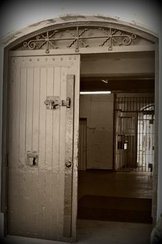 The entrance to the mens division 1 of Fremantle prison
