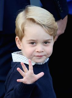 Prince George Photos Photos: 2016 Royal Tour To Canada Of The Duke And Duchess Of Cambridge - Victoria, British Columbia