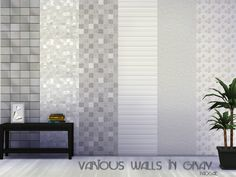 Paogae's Various walls in gray