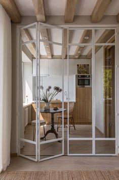 Slow Design, Home Design, Studio Design, Luxury Home Decor, Luxury Homes, Fresh To Go, Glass Room Divider, Best Interior, Home Decor Styles
