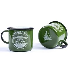 Introducing our limited edition Oregrown Enamel Camp Mugs handmade in Poland. These durable, high quality steel and enamel mugs are ideal for camping or the of Coffee Shop, Coffee Cups, Tea Cups, Coffee Beans, Blue Ballons, Camping Cups, Vintage Cabin, Coffee Accessories, Cool Mugs