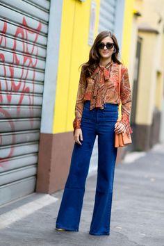 Looks of street style Milan: ELLE España waysify