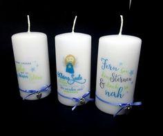 Sternenkindkerzen Pillar Candles, Stars, Candles