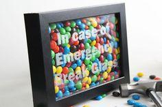 Un jour, un DIY: Des chocolats en cas d'urgence