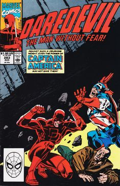 Daredevil #283 August 1990 [Direct Edition]