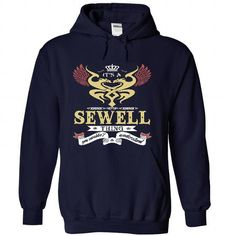 its a SEWELL Thing You Wouldnt Understand  - T Shirt, H - #tshirt women #red hoodie. WANT IT => https://www.sunfrog.com/Names/it-NavyBlue-46257529-Hoodie.html?68278