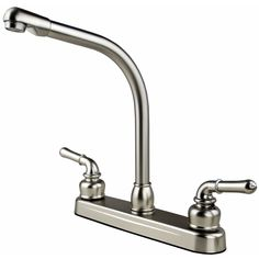 The Ultra Faucets UF08305C RV / Mobile Home Kitchen Faucet Is A Beautifully  Designed Non