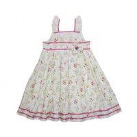Powell Craft Amy Floral Sleeveless Dress £18.95