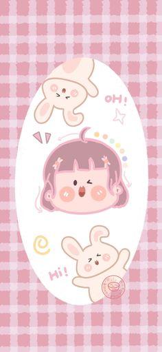 Sanrio Wallpaper, Soft Wallpaper, Kawaii Wallpaper, Aesthetic Iphone Wallpaper, Photo Wallpaper, Pattern Wallpaper, Diy Journal Books, Potato Girl, Drawing Expressions
