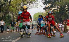 "Roller Skating in Park Street , ""Happy Street"" event | by AmitabhaGupta"